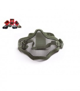 Metal mesh mask, OD Green