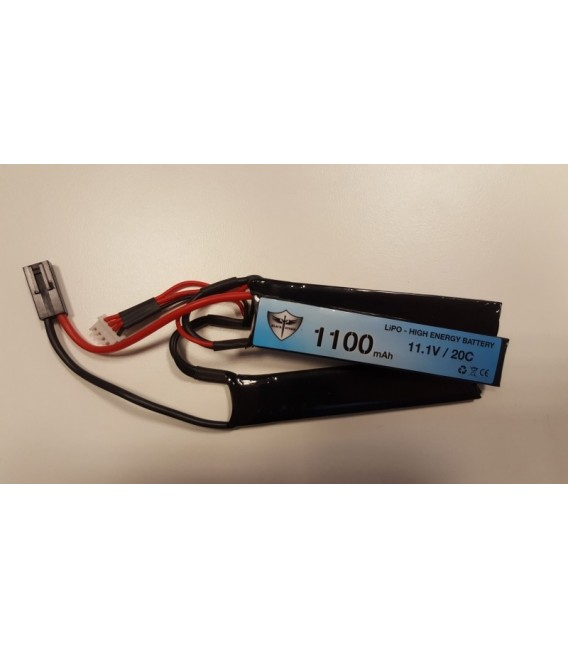 Black Storm 1100mAh Lipo 11.1V 20C Triple 5.2 x 21 x 102mm (x3)