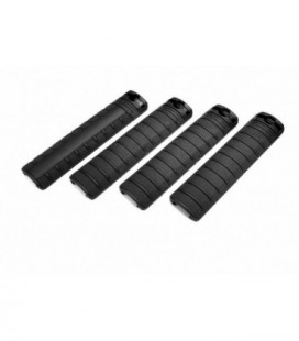 G&G HANDGUARD PANEL SET BLACK (4 PANELS) / G-03-023