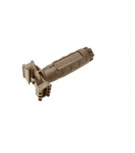 G&G RAILED GRIP DESERT TAN (ABS INJECTION) / G-03-066-1