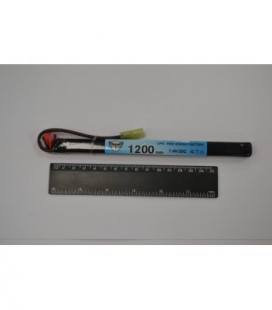 Black Storm 1200mAh Lipo 7.4V 20C super slim stick 10 x 15 x 169mm