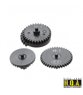 18:1 HQA Steel Normal Torque Gear Set (CNC)