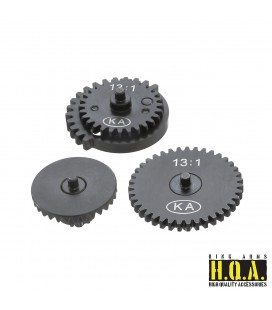 13:1 HQA Steel Super High Speed Gear Set (CNC)